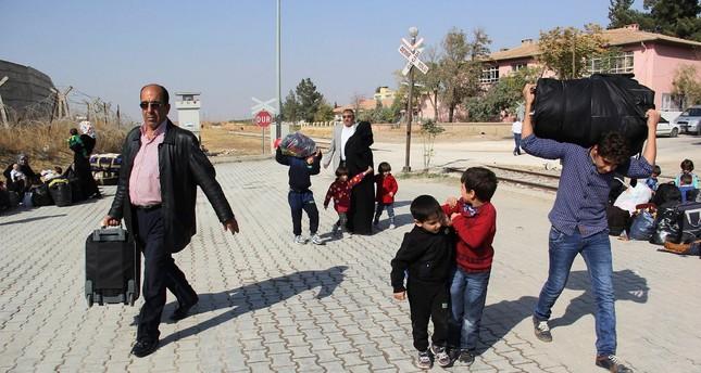 Over 7,700 Syrians return to Jarabulus from Turkey