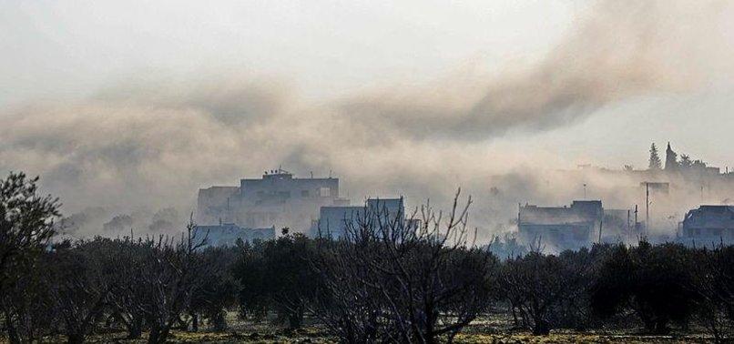 RUSSIAN AIR RAIDS CLAIM 4 LIVES IN SYRIAS REBEL-HELD IDLIB