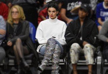 Kendall Jenner'ın stili dikkat çekti