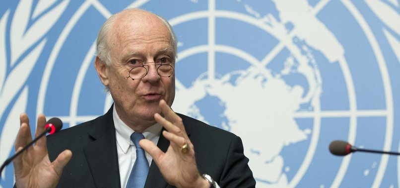 UN SYRIA ENVOY TO HOST TURKISH, IRANIAN, RUSSIAN OFFICIALS