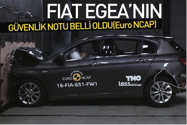 Fiat Egea'nın güvenlik notu belli oldu