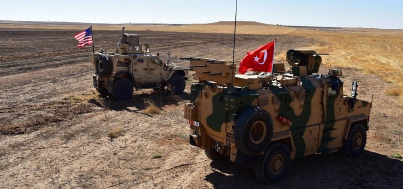 TURKEY, US FORCES ENTER AREA EAST OF EUPHRATES, LAUNCH JOINT SAFE ZONE PATROLS