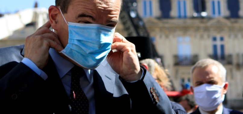 FRENCH PM CASTEX URGES VIGILANCE AS COVID-19 IS NOT ON HOLIDAY