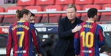 Soccer-Messi salutes Maradona as Barca trounce Osasuna