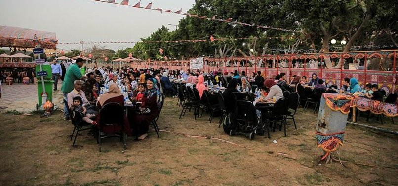 TURKISH AGENCY HOLDS CAIRO IFTAR FOR SPECIAL-NEEDS KIDS