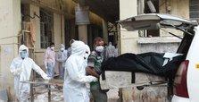 Fire kills eight coronavirus patients in Indian hospital