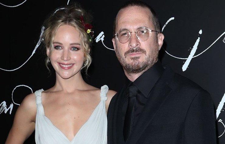 Jennifer Lawrence ve erkek arkadaşı Darren Aronofsky'nin gizlice nişanlandığı iddia edildi.