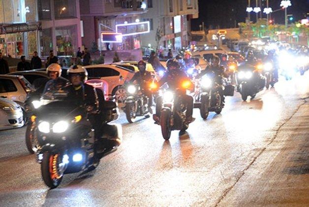Türk Chopper Motosiklet Kulübü üyelerinden Kilis'e ziyaret