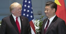 Trump says China wants to make trade deal