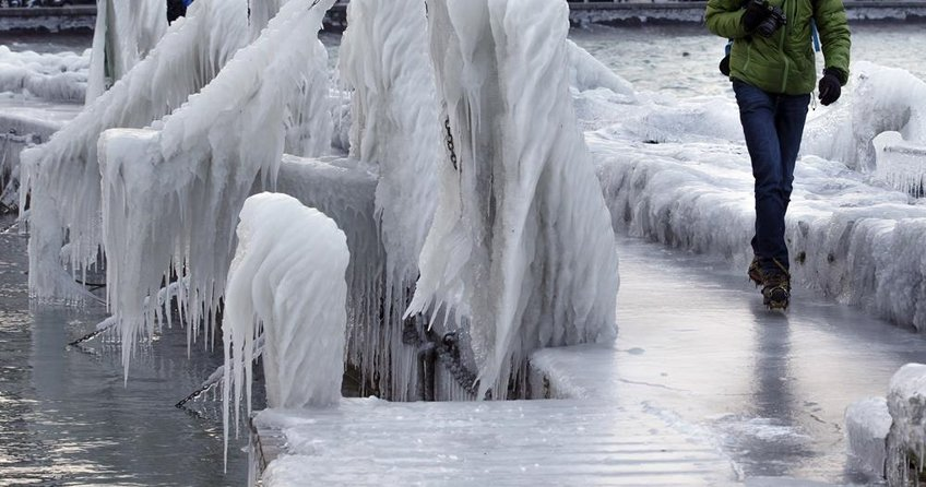 Almanya buz kesti