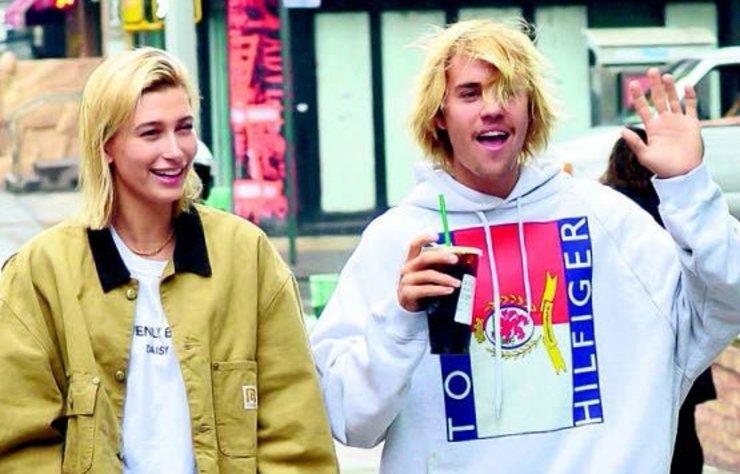 Justin Bieber ile Hailey Baldwin, New York'ta görüntülendi.