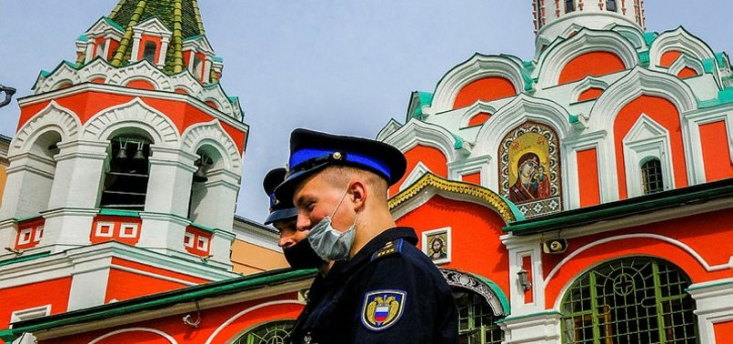 RUSSIA REPORTS 5,905 NEW CORONAVIRUS CASES, 134 DEATHS