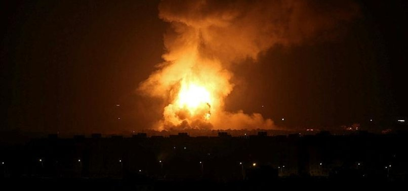 ISRAELI ARMY HITS HAMAS TARGETS IN NORTHERN GAZA STRIP
