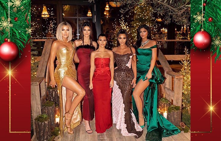 Kardashian'ların Noel partisi