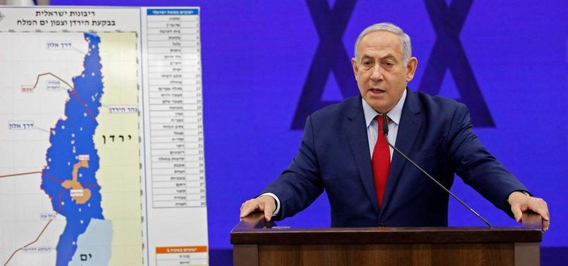 NETANYAHU COMMENT ON WEST BANK ANNEXATION BRINGS CRITICISM