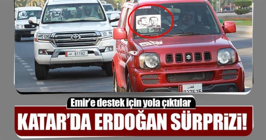 Katar'da Cumhurbaşkanı Erdoğan fotoğrafları