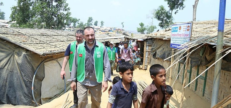 TURKISH AID AGENCY OPENS VILLAGE FOR ROHINGYA MUSLIMS
