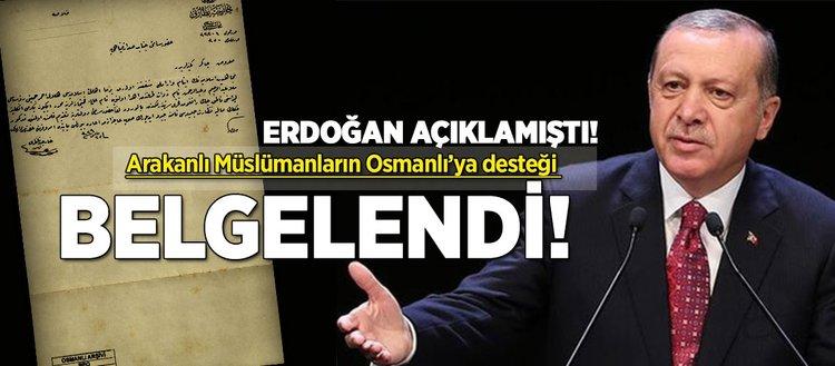 Arakanlı Müslümanların Osmanlı'ya desteği belgelendi!
