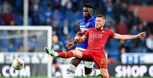 Roma fans aim racist abuse at Sampdoria's Ronaldo Vieira
