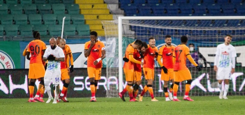 ISTANBUL GIANTS GALATASARAY HAMMER RIZESPOR 4-0 IN SUPER LEAGUE CLASH AS DIAGNE SCORES A HAT TRICK