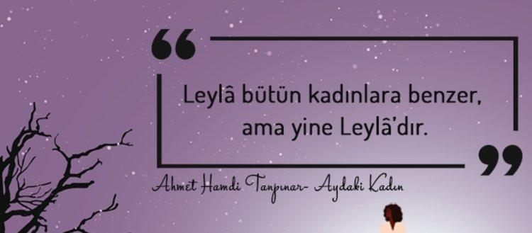 Ahmet Hamdi Tanpınar'ın Aydaki Kadın romanından 20...