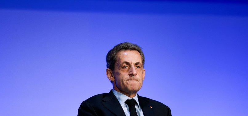 FORMER FRENCH PRESIDENT SARKOZY STANDS TRIAL FOR CORRUPTION