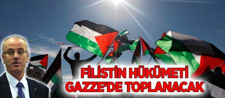 Hamas Filistin hükümetinin Gazze'de toplanma kararından memnun