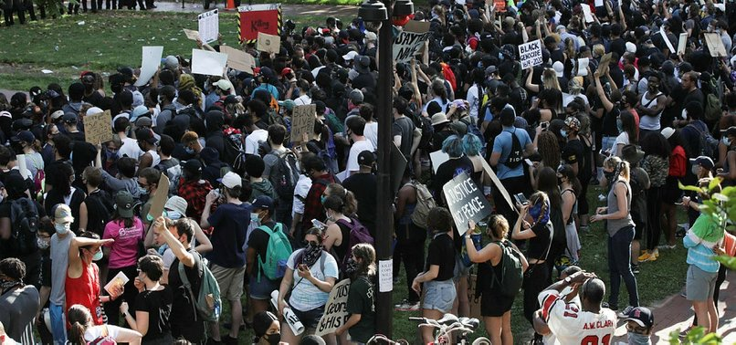 GEORGE FLOYD PROTESTS CONTINUE IN US FOR SIXTH DAY