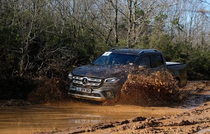 Pikapların yeni yıldızı Mercedes X Class