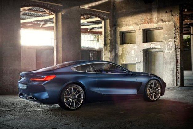 İşte 2017 BMW 8 Serisi konsepti
