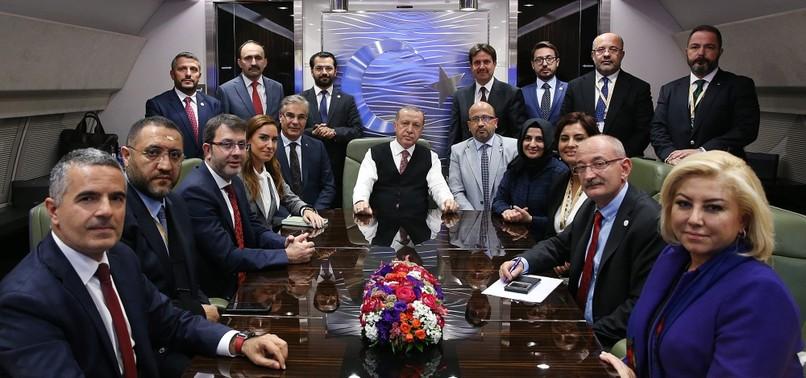 TURKEY INVESTIGATING ALL DIMENSIONS OF SAUDI JOURNALISTS CASE, ERDOĞAN SAYS