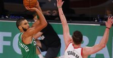Celtics outlast Blazers, hurt Portland's playoff hopes