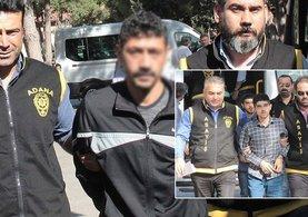 iki taksiciyi gasp eden ikiz kardeşler ve dayıları tutuklandı