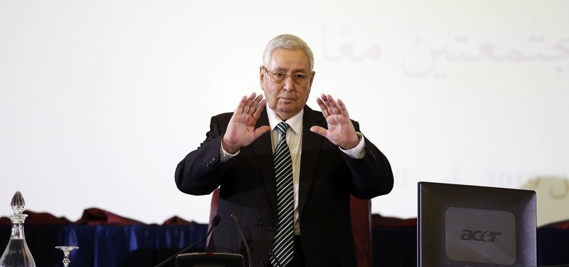 ALGERIA TO HOLD PRESIDENTIAL ELECTION ON DEC. 12: INTERIM PRESIDENT