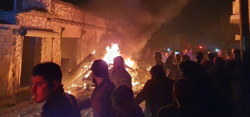 5 CIVILIANS INJURED IN NORTHERN SYRIA TERROR ATTACK