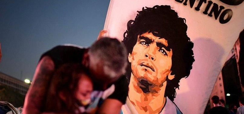 FOOTBALL LEGEND MARADONA VIEWED AS CHAMPION OF LATIN AMERICAS LEFT