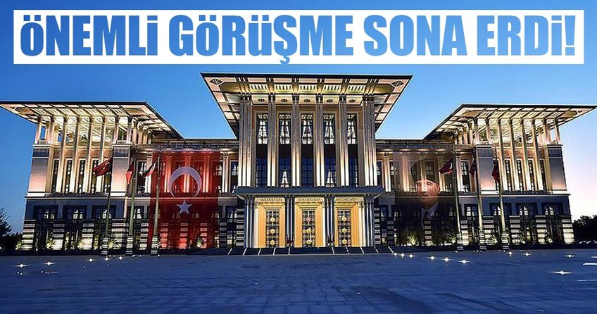 Cumhurbaşkanı Erdoğan ve Erol Kaya ile görüştü!