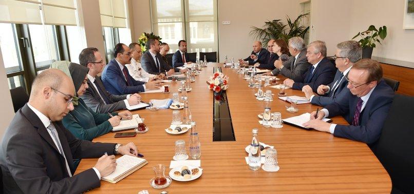 TURKEYS KALIN, RUSSIAS SYRIA ENVOY LAVRENTIEV DISCUSS IDLIB, SAFE ZONE, TERROR FIGHT
