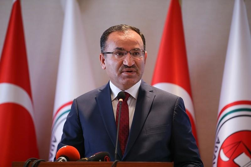 Justice Minister Bekir Bozdau011f (Anadolu Agency Photo)