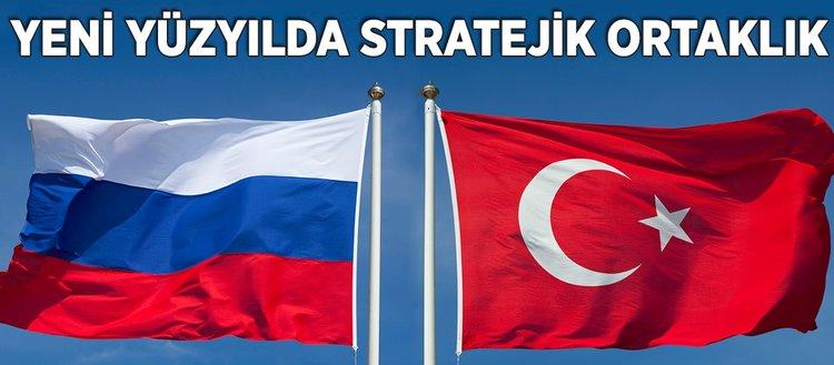 Yeni yüzyılda stratejik ortaklık: Türkiye ve Rusya