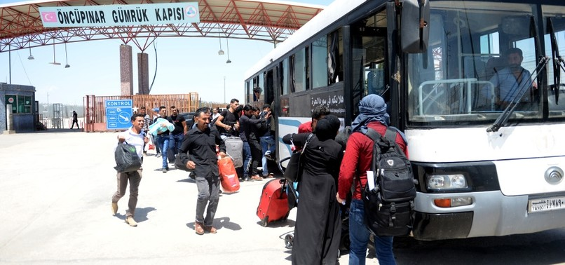 SYRIANS RETURN TO TOWNS LIBERATED WITH TURKISH HELP FOR MUSLIM HOLIDAY