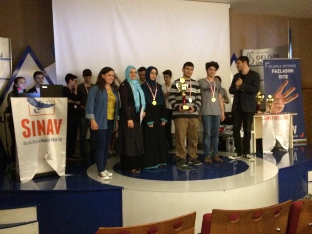 Photo courtesy of Kartal Anatolian Religious High School