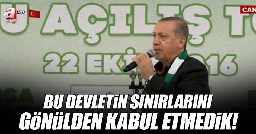 Cumhurbaşkanı Erdoğan: Bu çetenin ömrü millete hesap vermekle geçecek