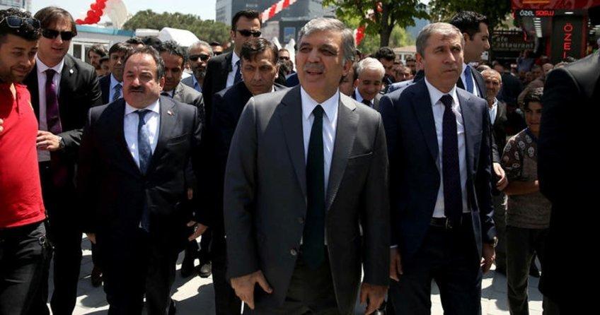 Abdullah Gül'den Deniz Baykal'a yanıt