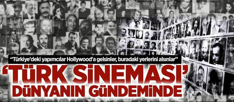 'Türk sineması, dünya sinemasındaki yerini almalı'