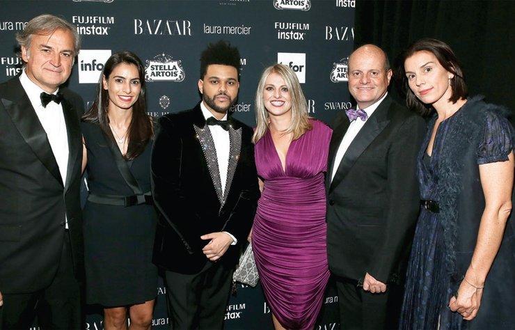 Harper's Bazaar Global Moda Direktörü Carine Roitfeld'in dördüncü kez düzenlediği Icons partisi moda sektörünü Plaza Otel'de bir araya getirdi.