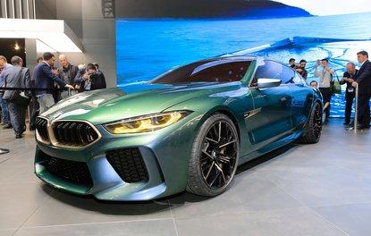 BMW M8 Gran Coupe konsepti ortaya çıktı