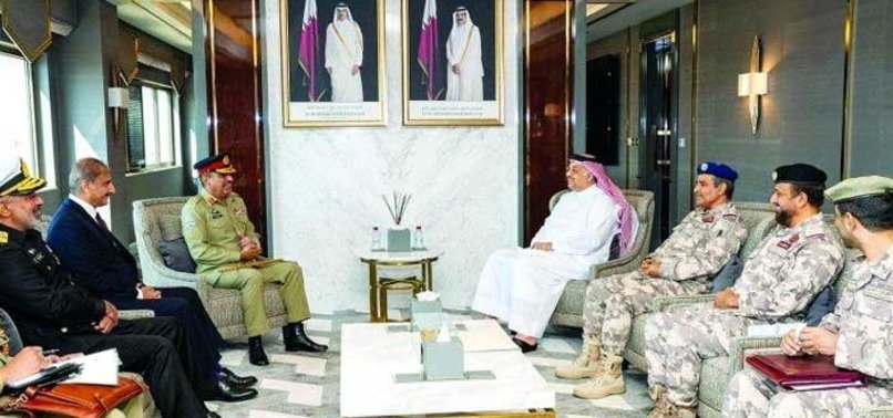 QATAR, PAKISTAN DISCUSS MILITARY COOPERATION
