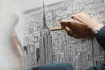 Dünyanın ünlü şehirlerini hafızasından çizen Dahi Bellek