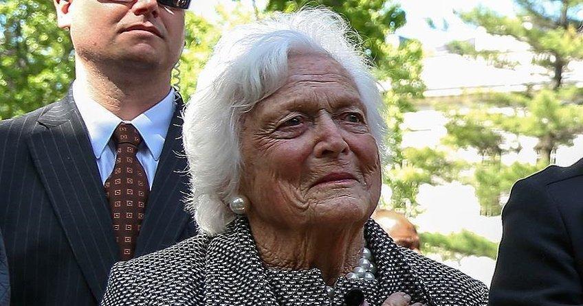 Barbara Bush 93 yaşında hayatını kaybetti